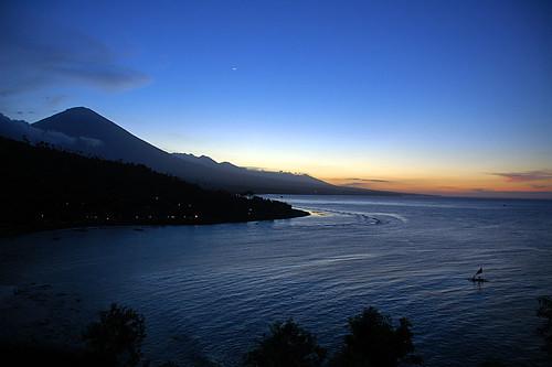 Amed (Bali) at Dusk