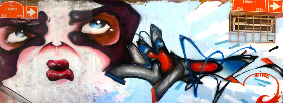 graffiti urbano