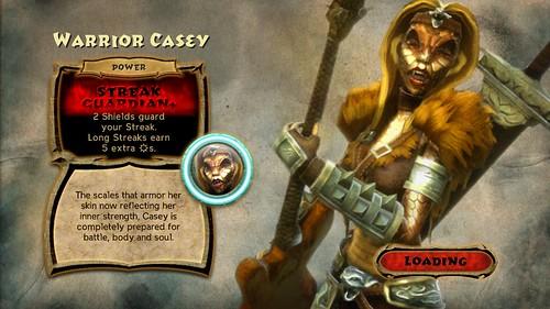 Guitar Hero Warriors of Rock - Warrior Casey