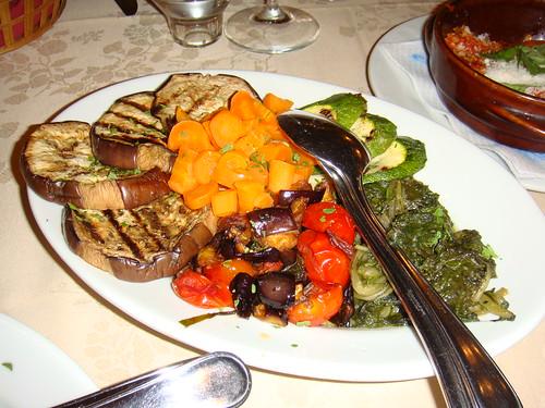 Fritura de verduras