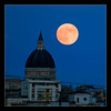 Il duomo e la luna (EXPLORED) (Michele Cannone) Tags: sky moon church night cathedral luna chiesa cielo cupola dome nightsky duomo notte cattedrale cerignola