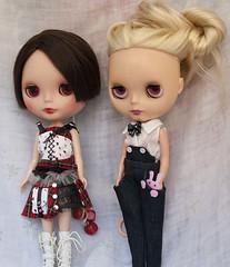 Victoria y Bernadette