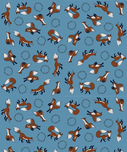 My fox fabric