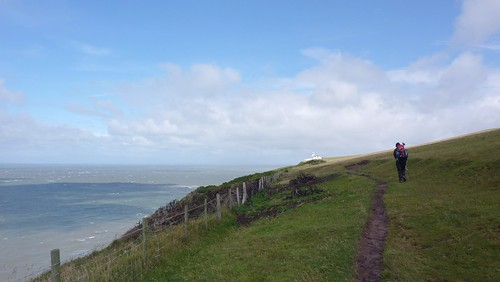 Walking along St Bees Head