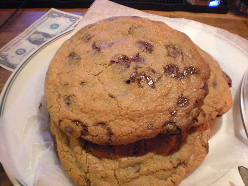 Chocolate chip cookies at The Old Fashioned