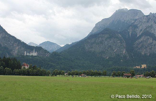 Castillos de Neuschwanstein y Hohenschwangau © Paco Bellido