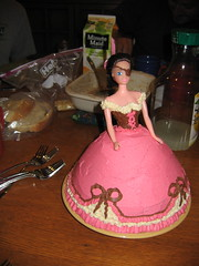 Pirate Barbie birthday cake