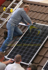 Solar Panel Course Snapshot - Roof Installation