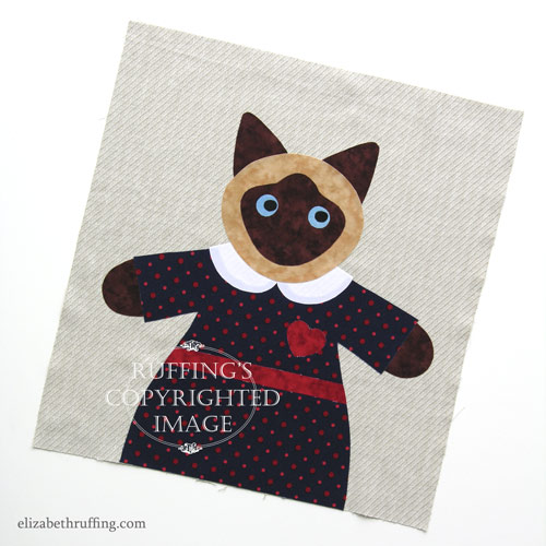 Hug Me! Siamese Kitty by Elizabeth Ruffing