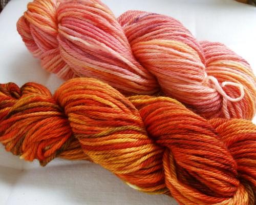 handdyed wool