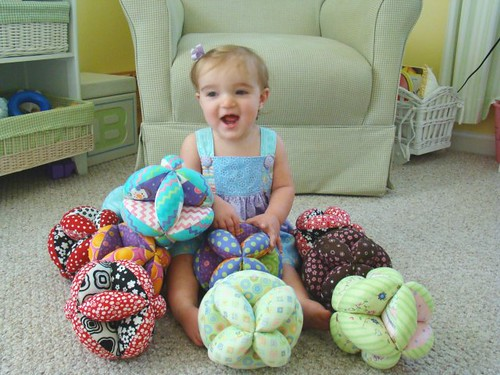 Crazy for Baby Puzzle Balls!