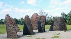 Jacques Cartier Monument 4 (Chris Haley) Tags: museum bronze cartier landsend pointe gaspesie gaspe stelae