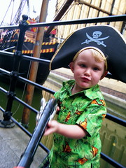 Pirate at the Golden Hinde