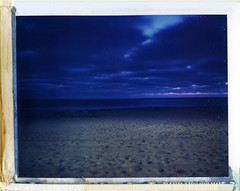 Pacific Beach, CA (moominsean) Tags: ocean california longexposure sunset summer fog polaroid sandiego dusk pacificbeach beah 190 marinelayer iduv expired022008