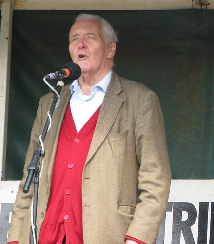 Tony Benn at the Burston Strike School Rally 2010