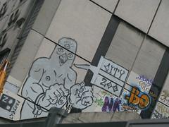 Paris, by Zoo Project (Zerbi Hancok) Tags: street streetart paris france zoo peinture urbanart walls murs zooproject bilalberreni
