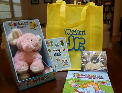 Win this great Webkinz Jr. prize pack!