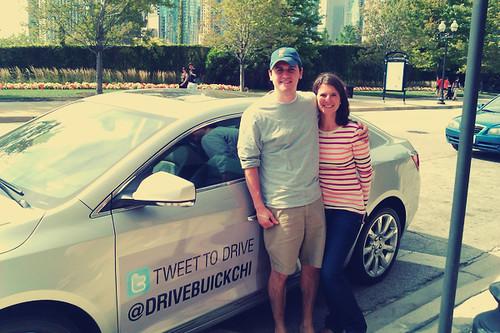 Tweet to Drive - @DriveBuickChi