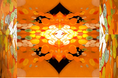 Time Travel (Karen McQuilkin) Tags: abstract art glass collage symmetry artwithoutend