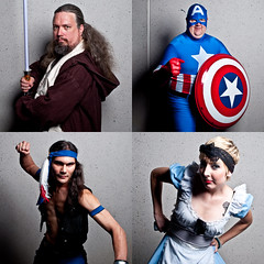 (J Trav) Tags: atlanta georgia costume dragon jedi captainamerica con dragoncon 2010 500x500