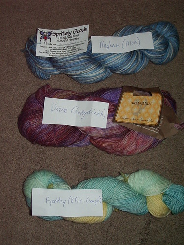 Yarn for the WINNERS!