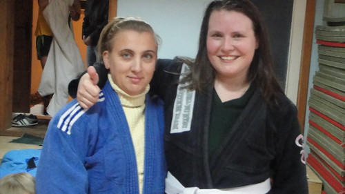 Me with Sambo champ, Lena