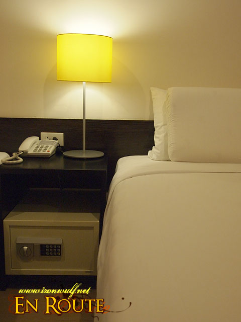Comfortable Bed and In-room Safe
