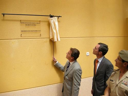 Inauguración guarderia infaltil para  Militares