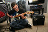 Marko (David Arias Photography) Tags: dog dogs freedom guitar flash indi