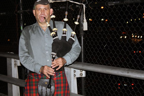 The Mad Piper of the Mass Pike Bridge