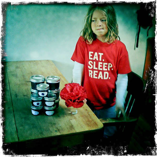 summer scrapbook :: berry picking and jam making...