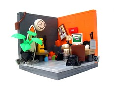 "The Builder's ""Lounge"" (NewRight) Tags: lego lounge contest builders"