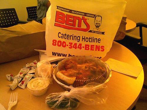 Ben's Kosher Deli NY Corned Beef Pastrami Burger Rosh Hashanah