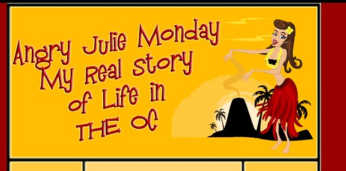 Original Angry Julie Monday Blog Design