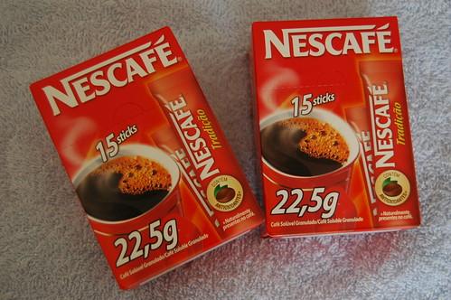 amostra grátis Nescafé