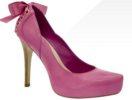 calçados rosa via uno