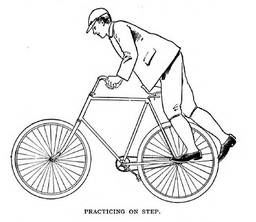 Cycling - 1895 how to get on