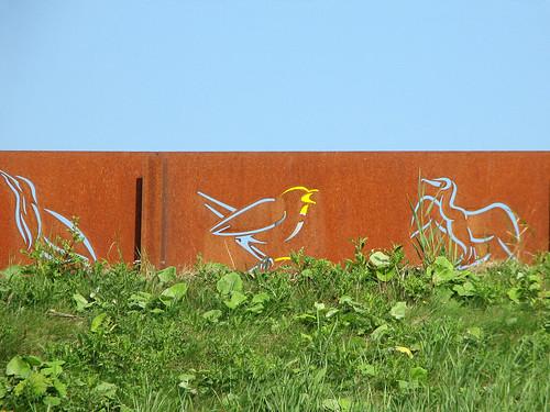 Dike fence
