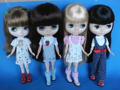 Nina, Melody, Francesca e Giovanna!