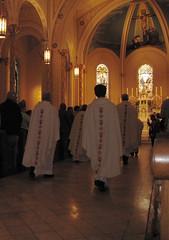 Priests (pianoforte) Tags: church georgia stainedglass altar augusta romancatholic priests augustaga mostholytrinity