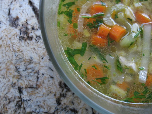 herbed chicken soup