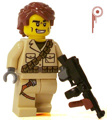 British Private (*Nobodycares*) Tags: private soldier gun lego wwii tommy worldwarii ww2 guns british worldwar2 brickarms