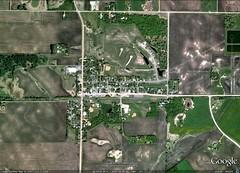 New Germany MN (via Google Earth)