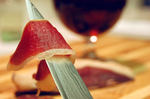 Home cured duck prosciutto!