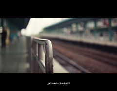 You live and learn.  At any rate, you live (jebatderhaka88) Tags: station canon lens focus university bokeh south railway korea f2 manual russian 58mm suwon helios keretapi sungkyunkwan 40d jebatderhaka88
