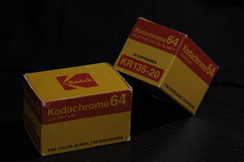 Unused Kodachrome in 1976