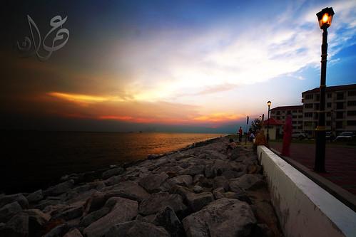 Sunset @ Pulau Melaka, Bandar Hilir, Malacca
