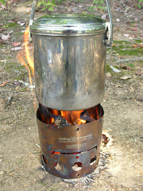 Zebra Pot on Littlbug Junior Stove