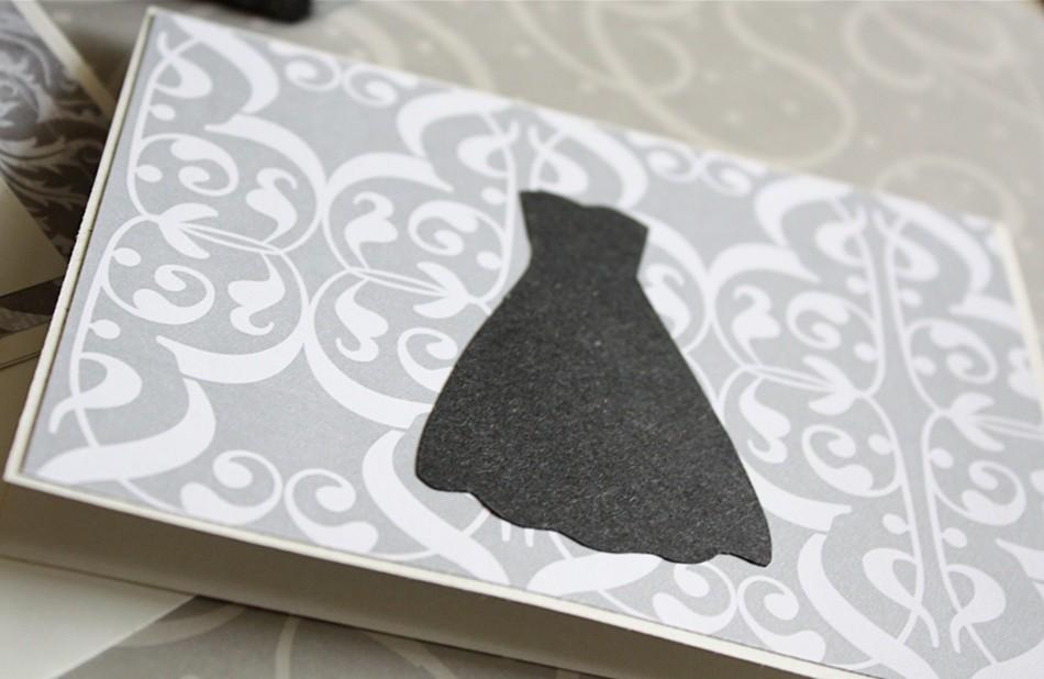 9a993af7910b Wedding Inspired Greeting Card (Megan Brooke Handmade) Tags  wedding black shower  handmade card