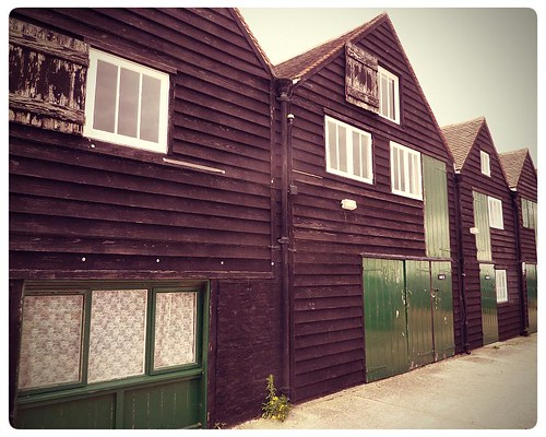 Whitstable ~ converted fisherman's huts